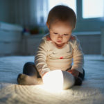 using-baby-light-night