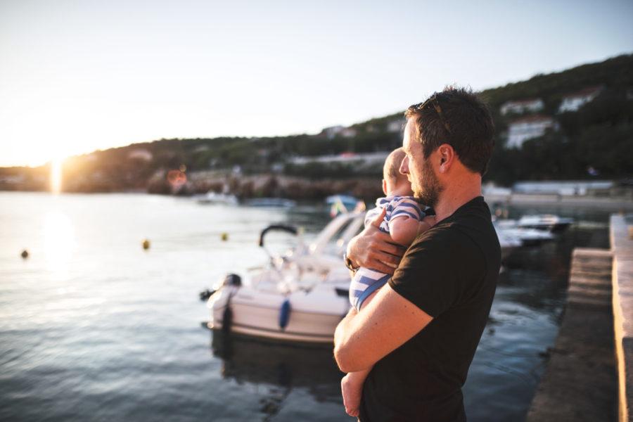 taking-baby-to-the-lake