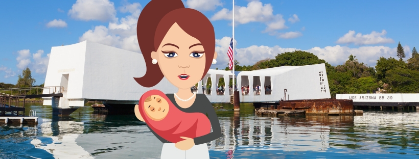 Taking Baby to Pearl Harbor