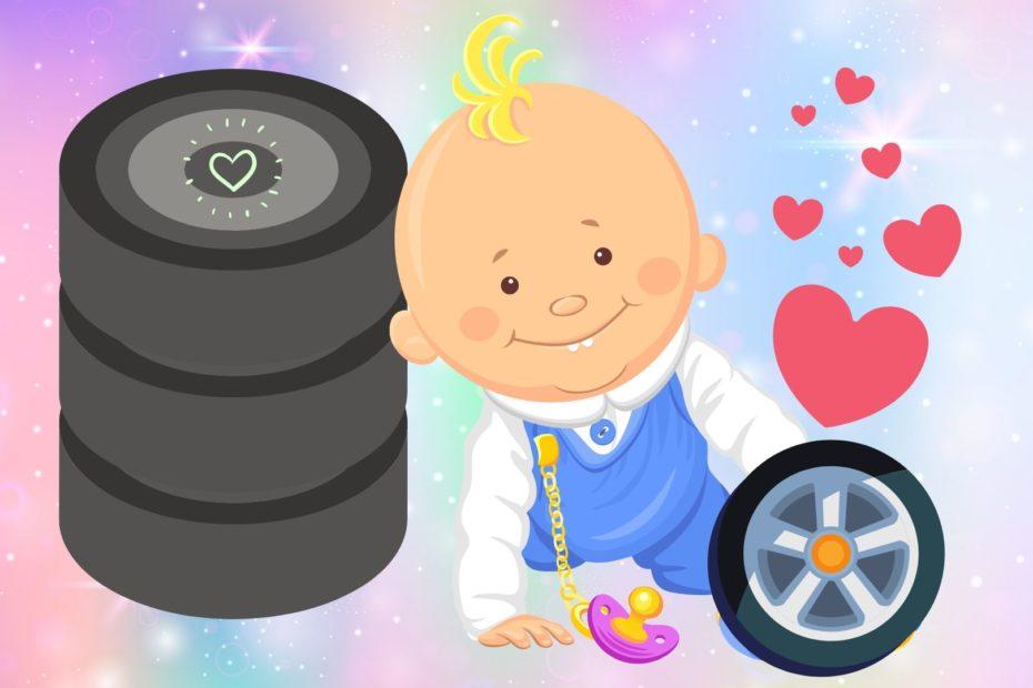 baby loves wheels