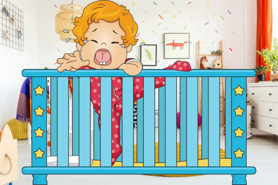 baby controlled crying in crib