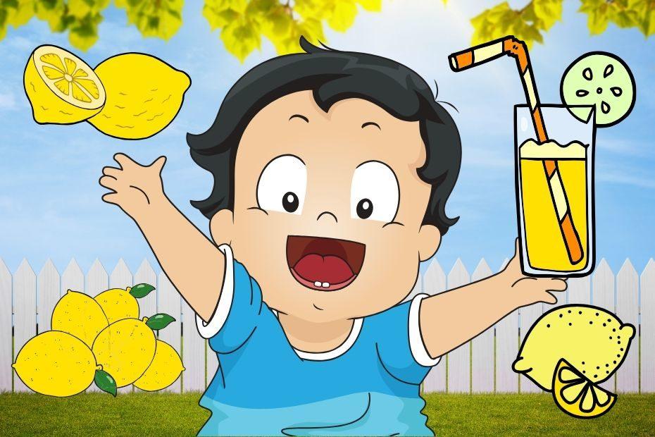 baby likes lemons