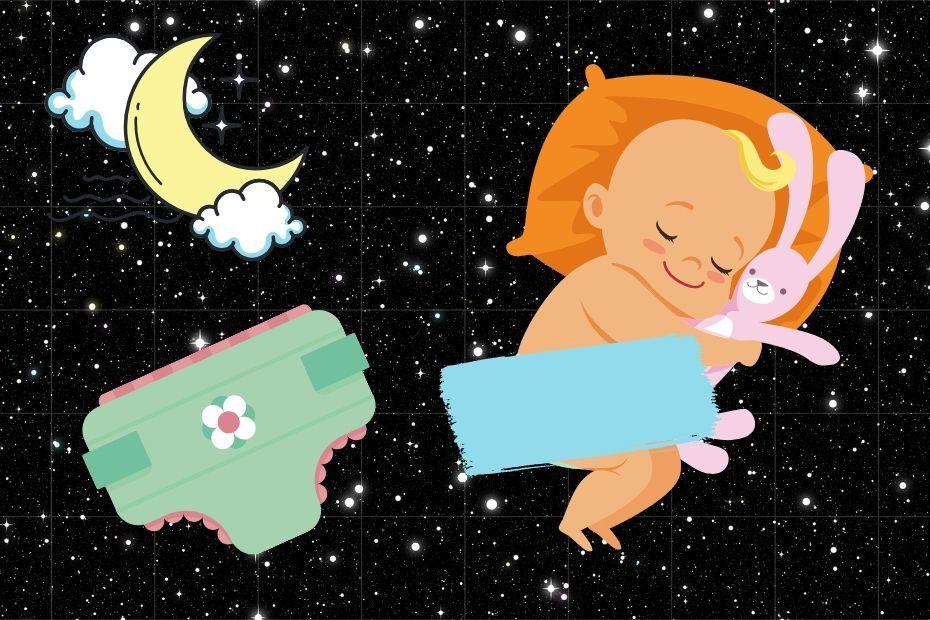 toddler won't wear diaper at night