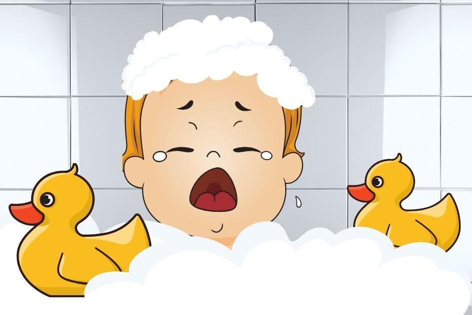 toddler hates having hair washed
