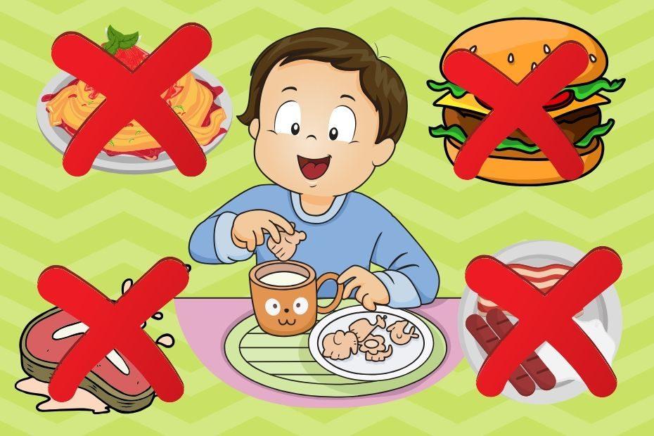 toddler won't eat dinner but wants snacks
