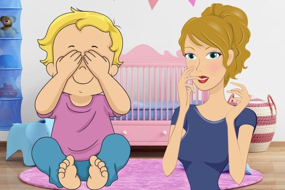 baby not opening eyes