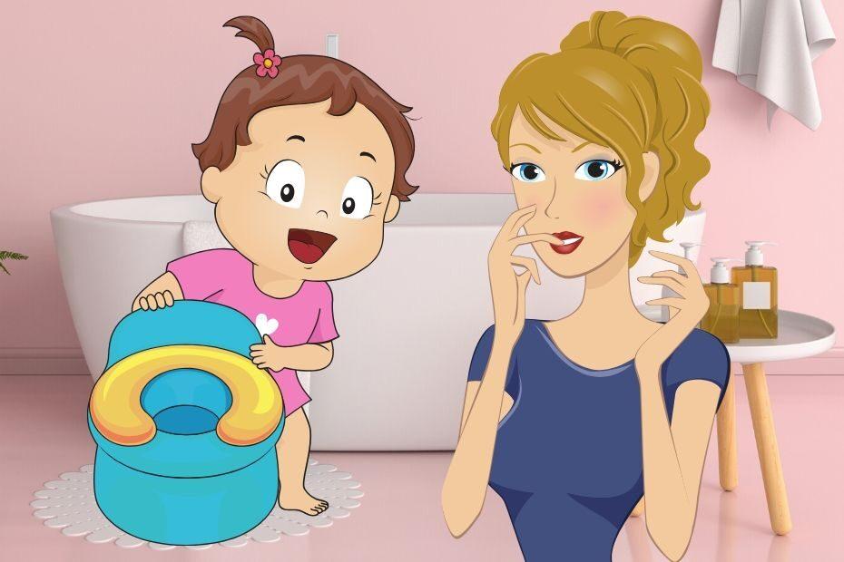 baby has black poop